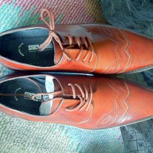 Men's Cognac Brown Oxford Style Shoes